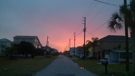 Florida Sunset by Nesariel