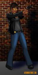 30DoC 2017 #04 - Det. Lt. Saronna Jones by Nesariel