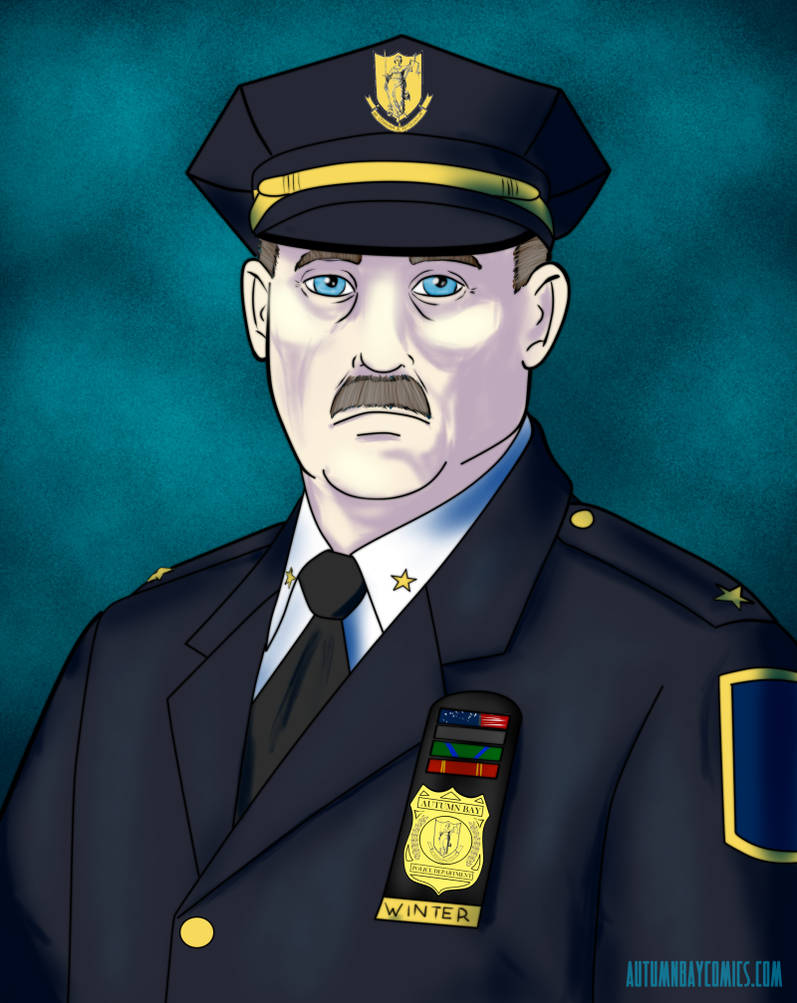 30DoC 2017 #07 - Chief of Police Thomas Winter by Nesariel