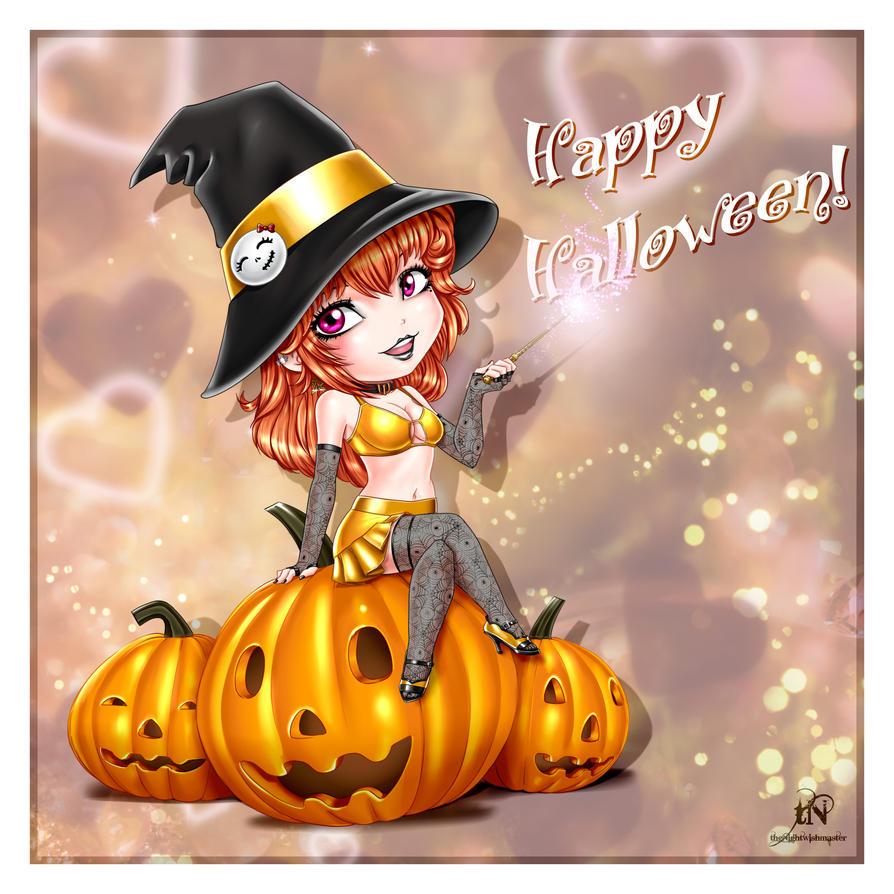 It's Halloween... tonight! by theNightwishmaster