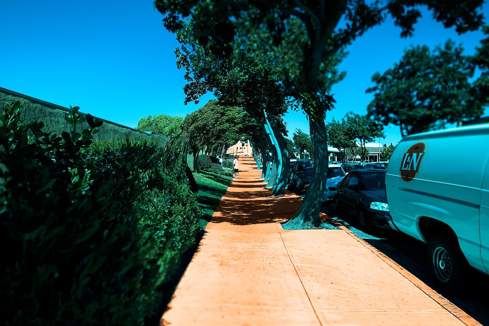 The Sidewalk by dannypyle