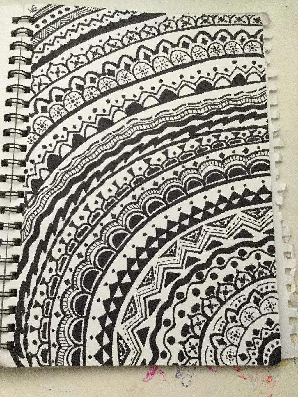 full page mandala coloring pages - photo #46