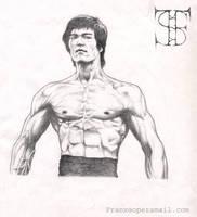 Bruce Lee by gl4di4tor
