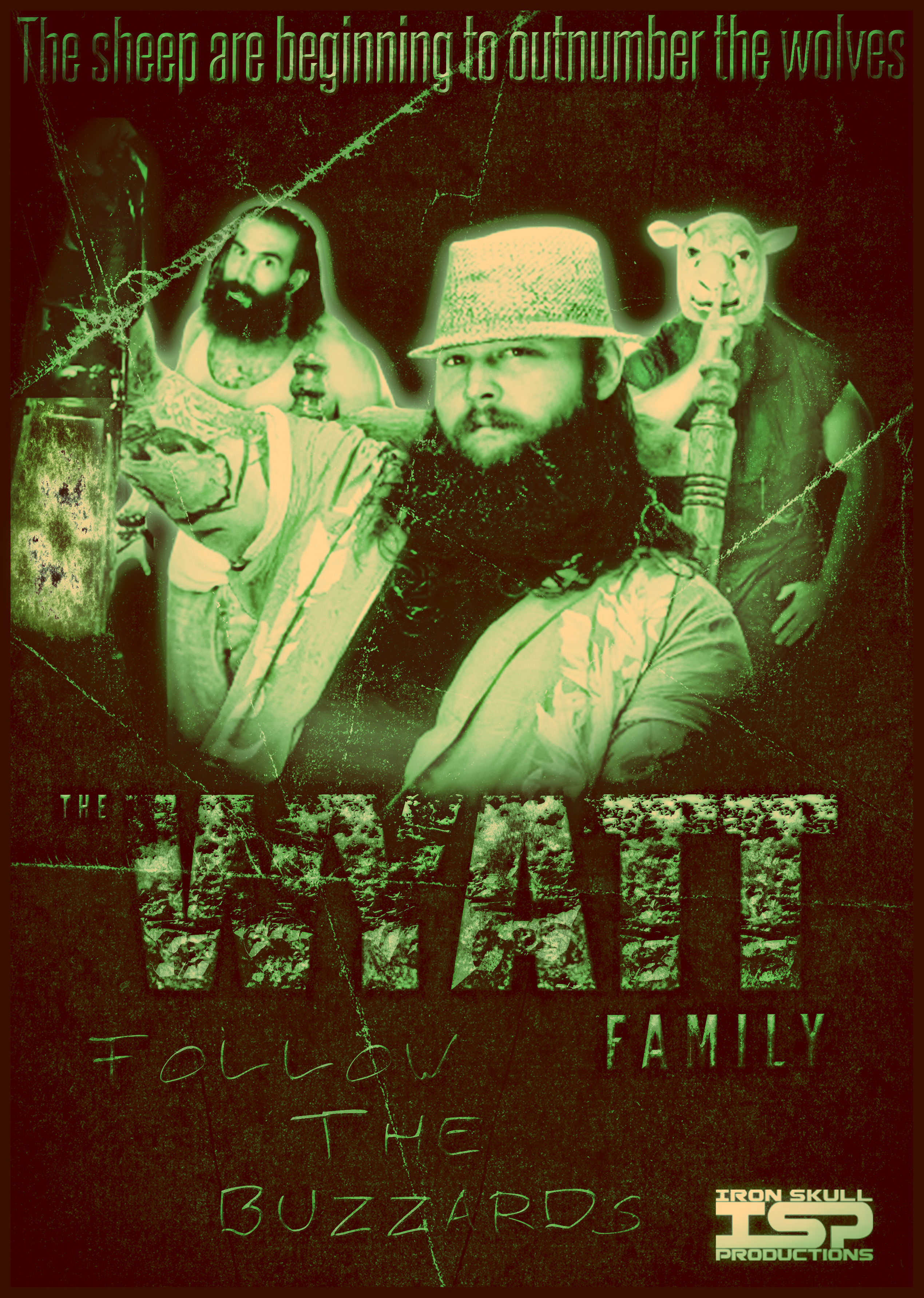 WWE THE WYATT FAMILY - poster by TheIronSkull
