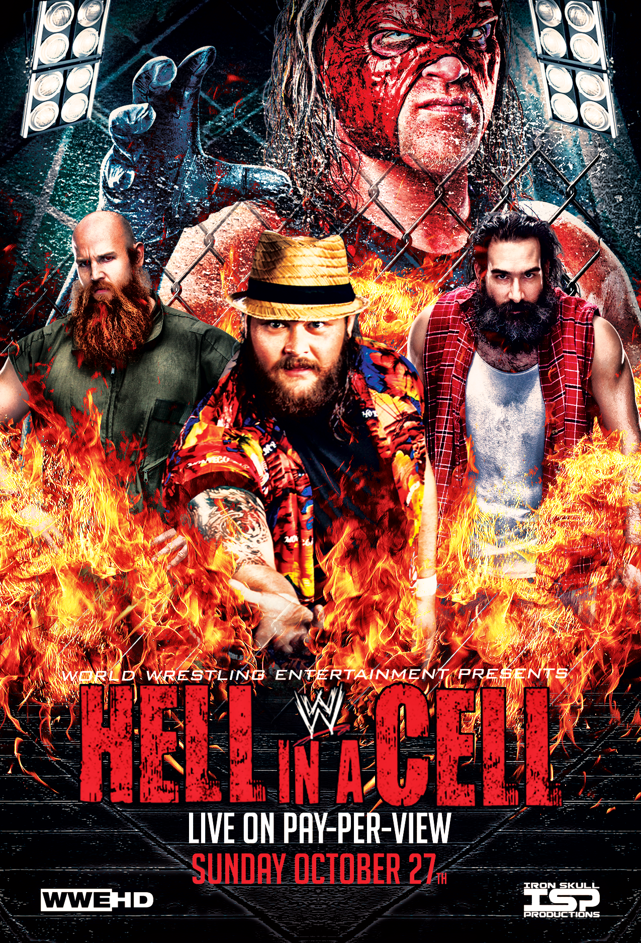 Image result for hell in a cell 2015 poster