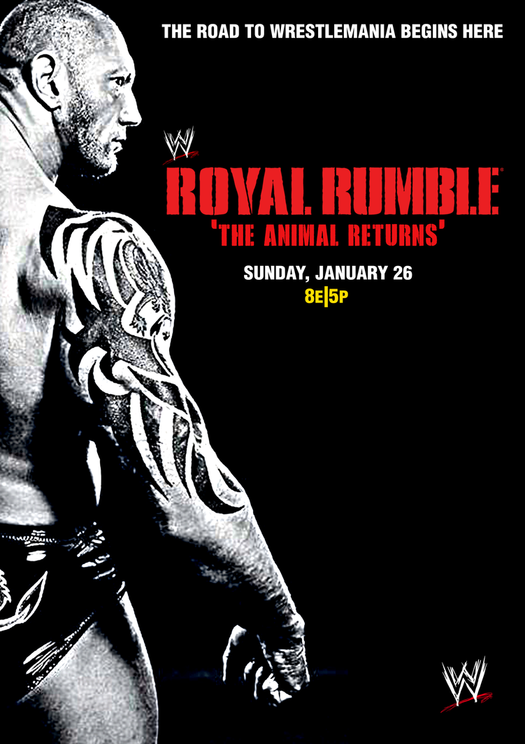 WWE Royal Rumble 2014 by TheIronSkull