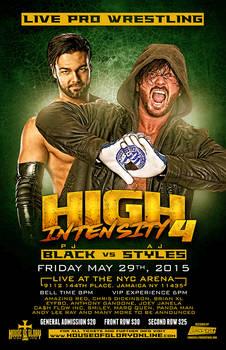 House of Glory Wrestling - High Intensity 4