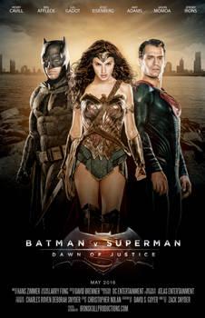 Batman v Superman Dawn of Justice - Trinity Poster