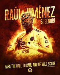 Raul Jimenez Sin Cara Mask