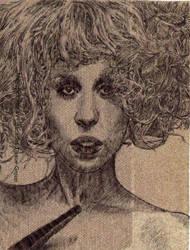 Lady Gaga napkin 01 by JOSHic