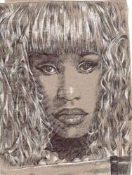 Nicki Minaj napkin... again by JOSHic