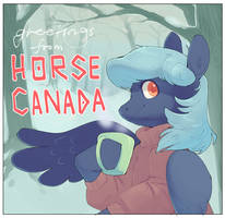 HORSE CANADA by Amphoera