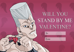 JoJo: Polnareff Valentine by TheRabidOgre