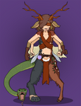 The Chimera Girl - Combat Alchemist