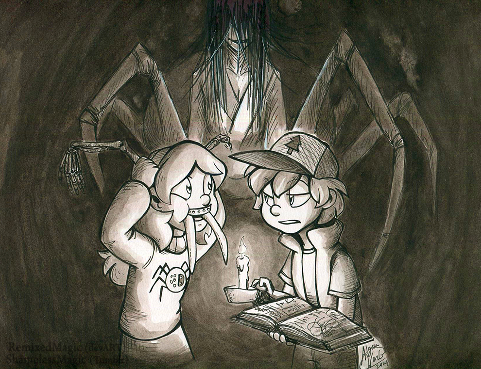 Gravity Falls: Mabel, that's gross. by ShamelessMagic