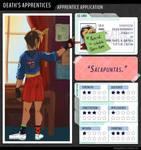 Death's Apprentices: Salvia Hernandez