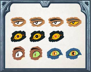 SH: Single Eye Emoji(s) by ShamelessMagic