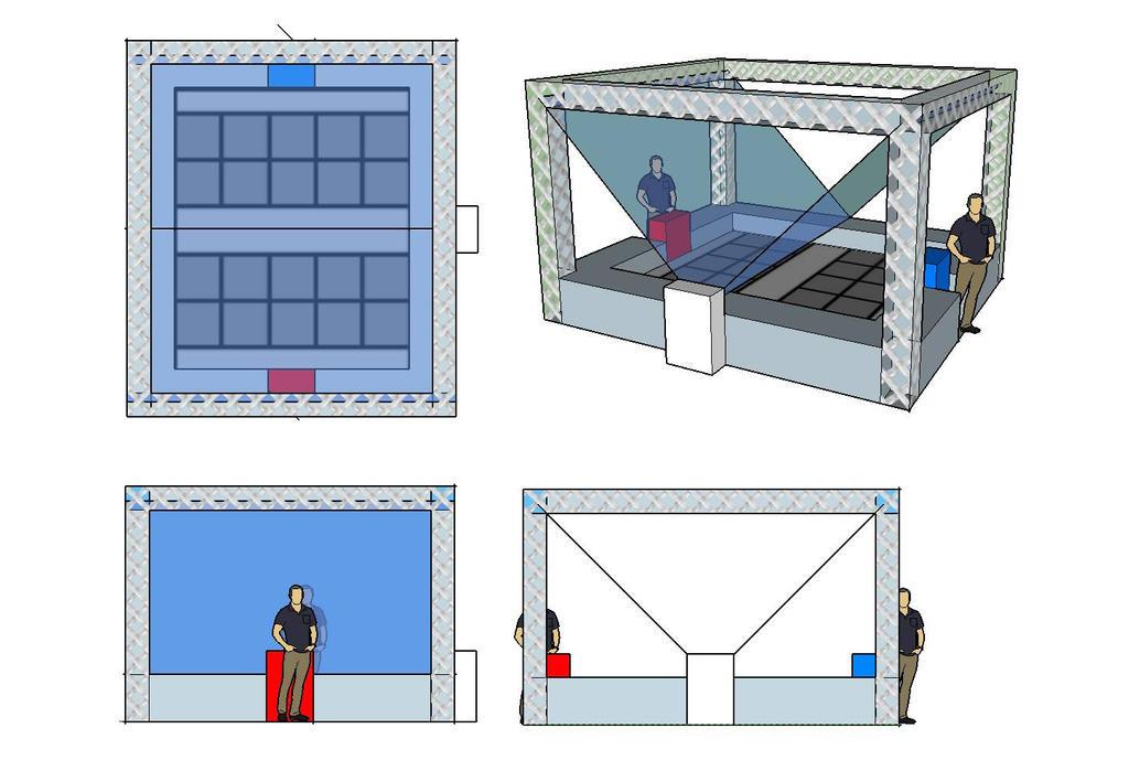 yugioh IRL duel arena mock-up by artman101