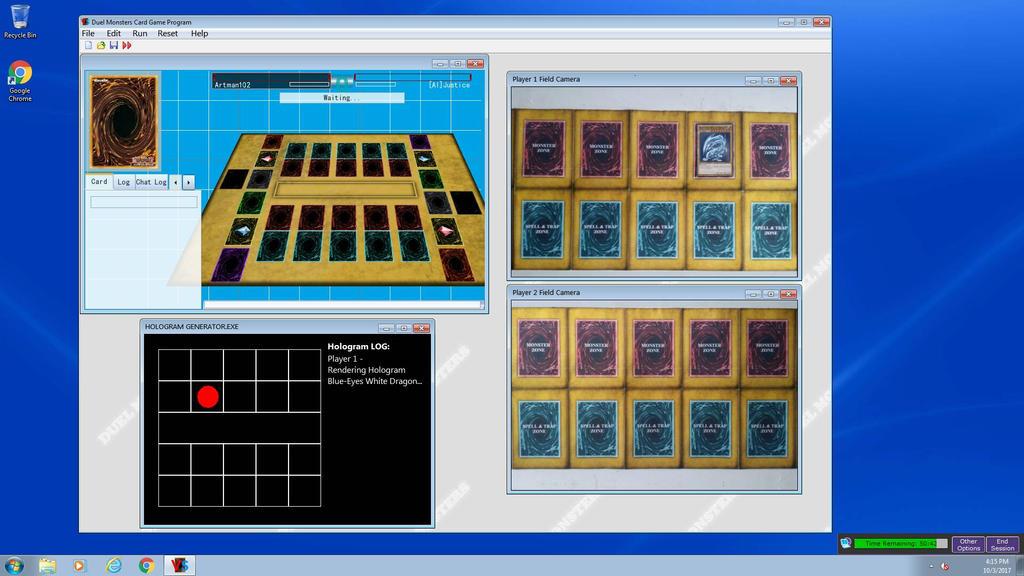 IRL duel arena screen mockup by artman101