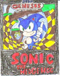 sonic the hedgehog 1st game by artman101