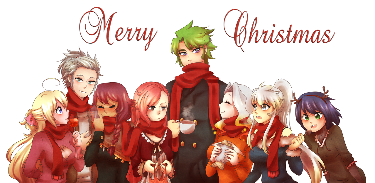 Merry Christmas! by curlyspoon