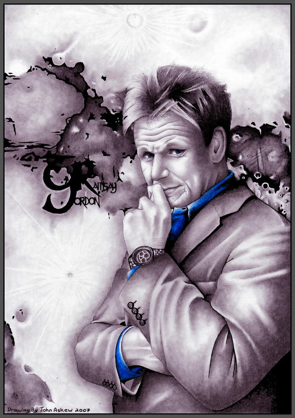 Gordon Ramsay by devouredex