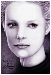Katherine Heigl Speed Sketch by devouredex