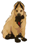 Yellow Quilldog Pup