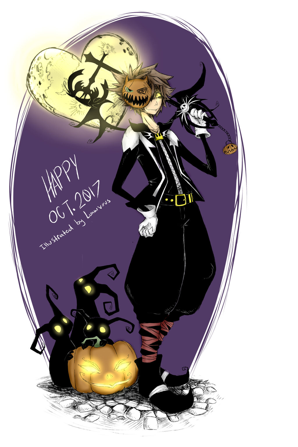 Nightmare Before Christmas Sora.Nightmare Before Christmas Sora Kingdom Hearts By