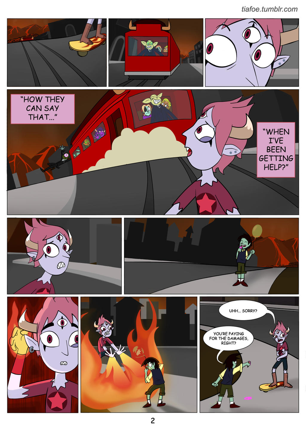 Tom Is A Force Of Evil: Chapter 1 Page 2 by midnightclubx