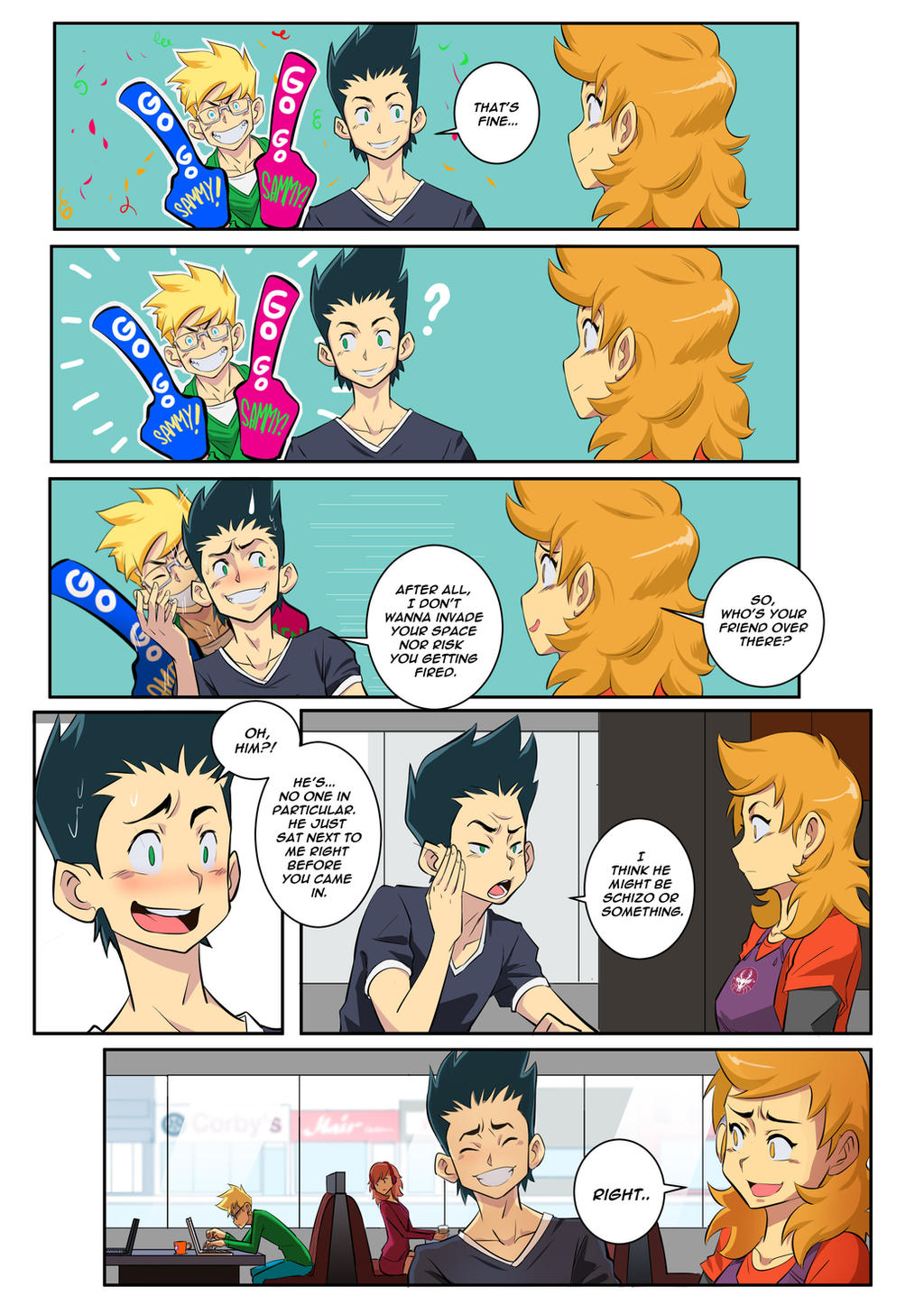 Chapter 1 Remake Page 8