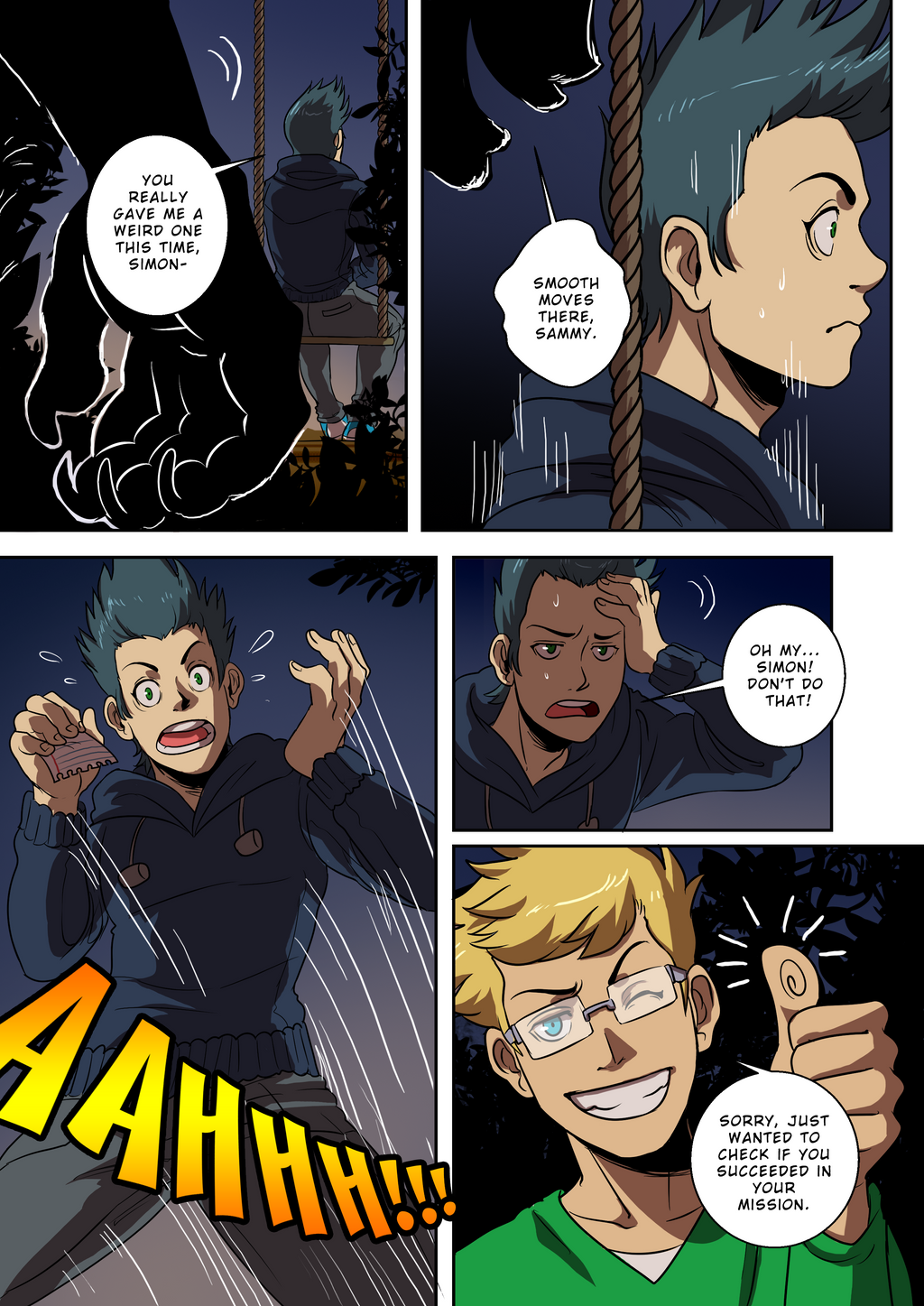 Chapter 1 Remake Page 16