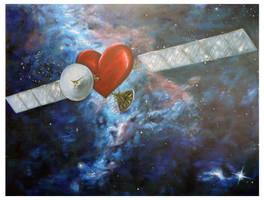 Satellite Heart by melpople