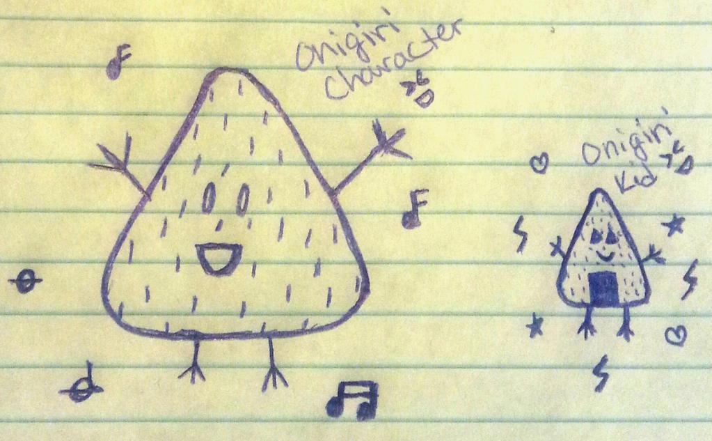 Random Riceball Doodle by Kaylove75