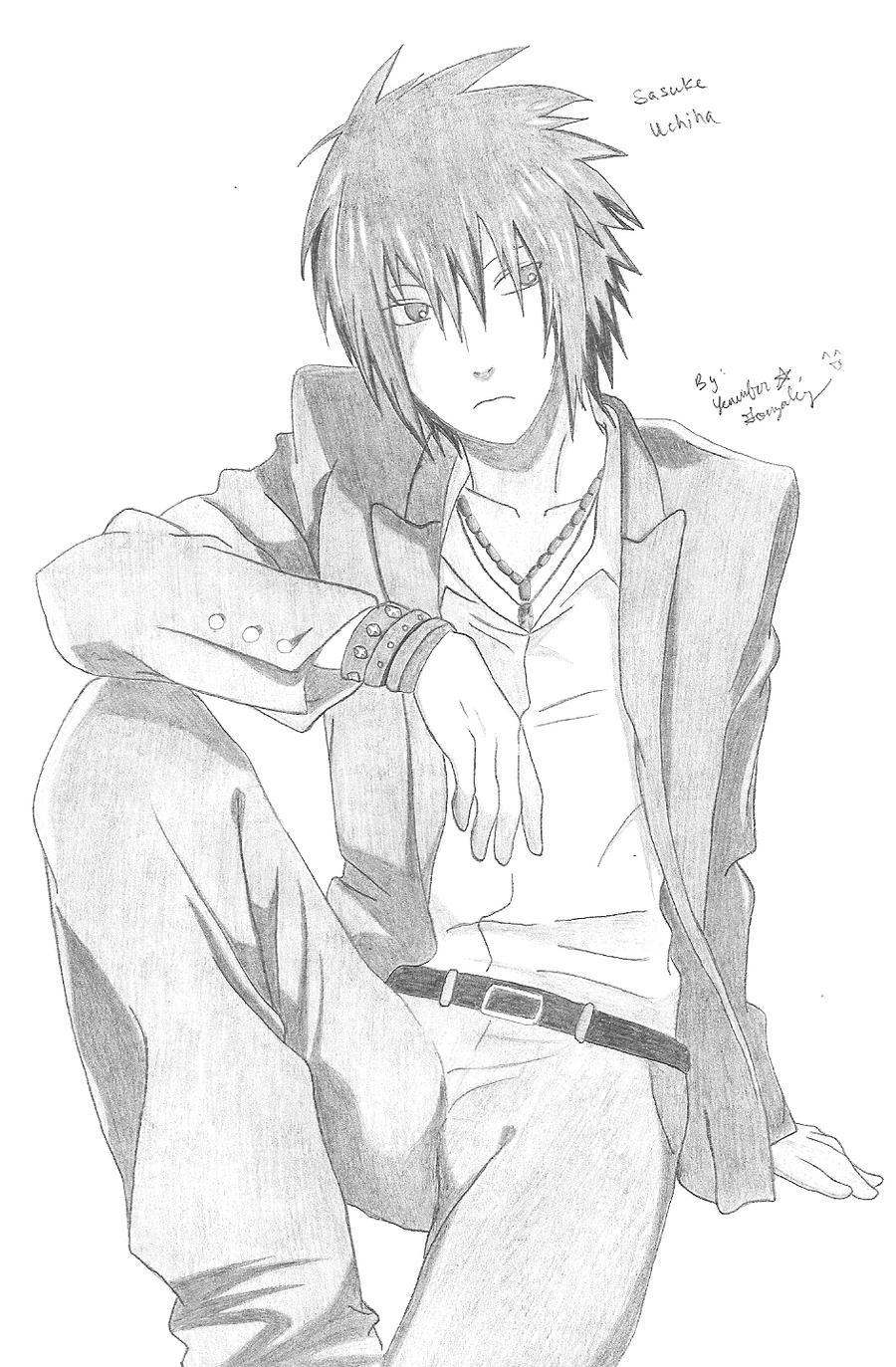 Sasuke Uchiha by TwinTsukuyomi