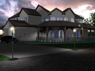 Twilight Castle by pdotcdot