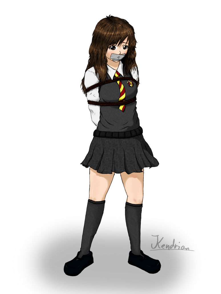 Hermione Redrawn by Kendrian