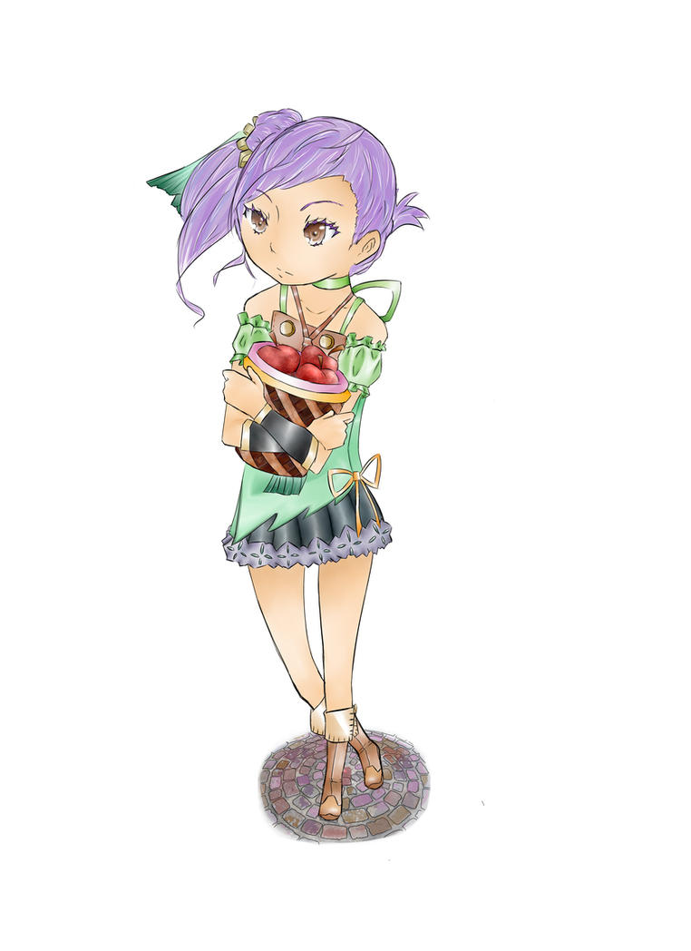 Rune Factory Oceans: Odette by Chocolemonberrysbro