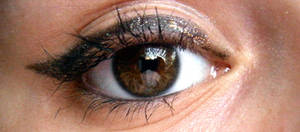 behind these hazel eyes ..