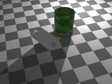 Checker shadow illusion Proof