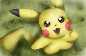 Pikachu -- I Choose You by StartistMakesArt