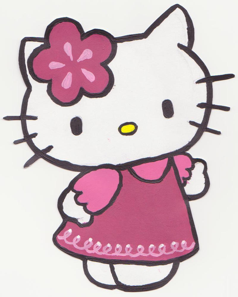 Hello Kitty by Revolver-Bobcat