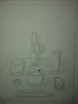 Painting Sketchbook Doodle