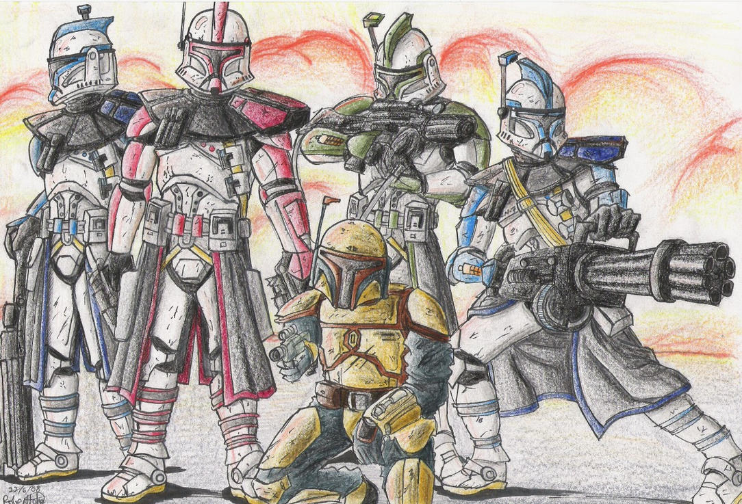 Skirata's Private Army by GraphiteFalcon