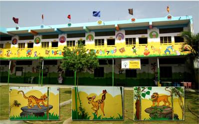 Kids Room wall Murals by kreativebrahma