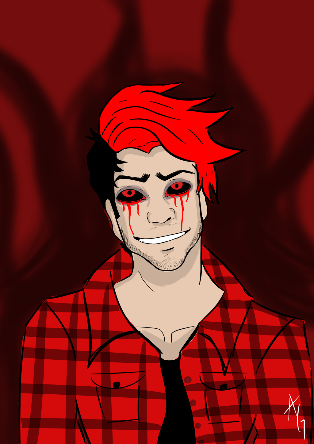 Darkiplier 602000202 on animated ham