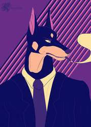 Lone Digger by Bloodjer