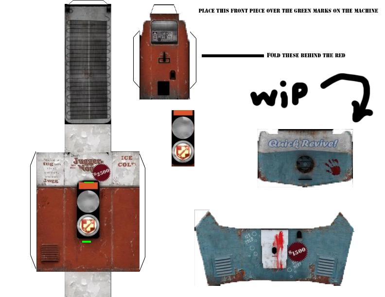 Nazi Zombies Papercraft (Juggernog) By NazizombisTTGT On