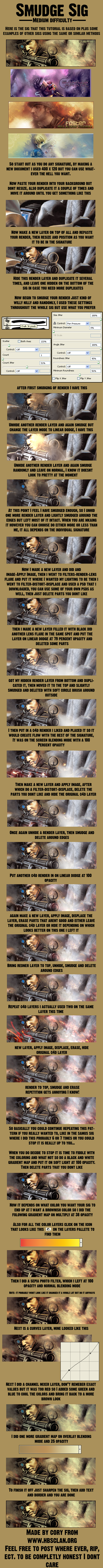 Smudge Tutorial by CoryK