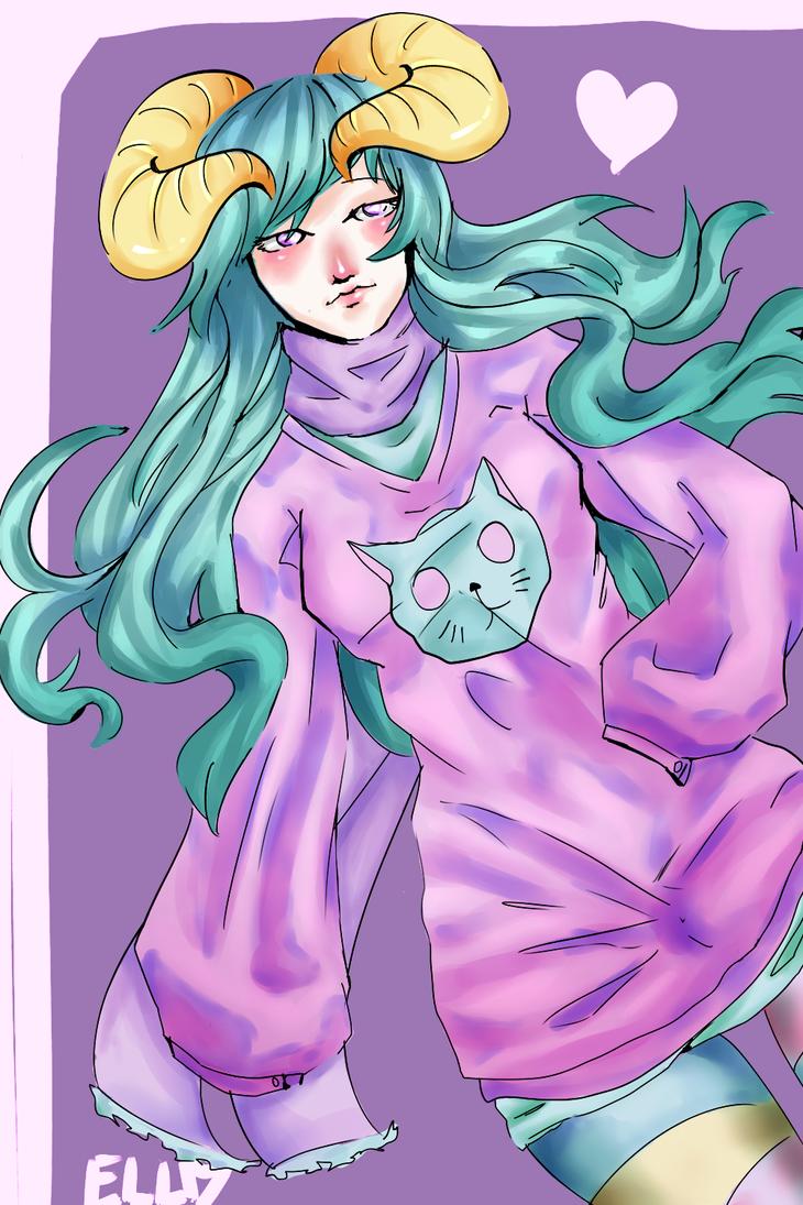 [Artrade] Sleepy by Larissinhaaah